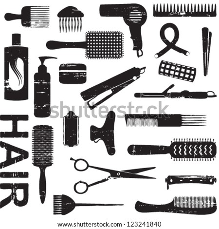 Gallery For > Hair Clipart Tools Clipart
