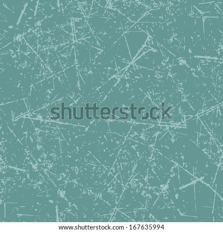 Scratched seamless texture, vector illustration for your design, eps10. - stock vector