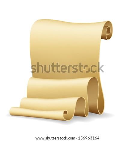 Scroll. Vector - stock vector