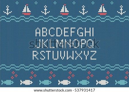 Knitted Letters Stock Images, Royalty-Free Images & Vectors ...