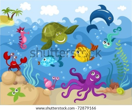 Aquatic Animal Stock Images, Royalty-Free Images & Vectors ...