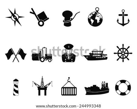 Anchor, harbor, location, marine, navy, sea, seaport icon | Icon ...