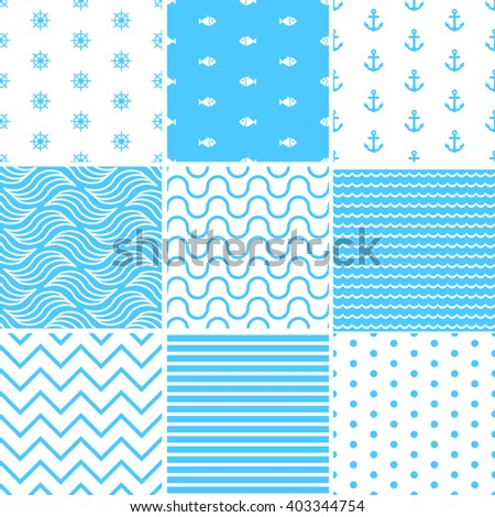 Sea Seamless  - stock vector