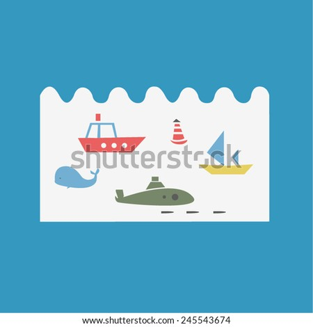 Sea transport images