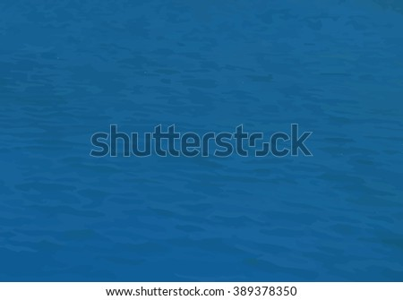 Sea water surface texture. Vector marine background