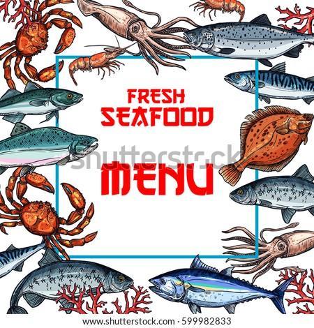 Salmon Crab Fish Seaweed Cat Food