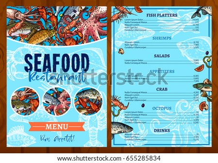 The sea catfish stock images royalty free images for Fresh fish company menu