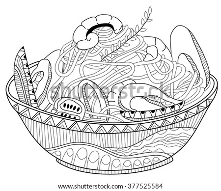 seafood coloring pages - photo#34