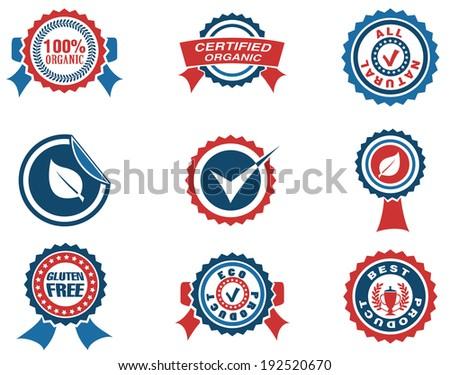 Seals icon - stock vector