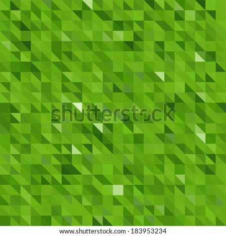 seamless abstract background consisting of triangles - stock vector