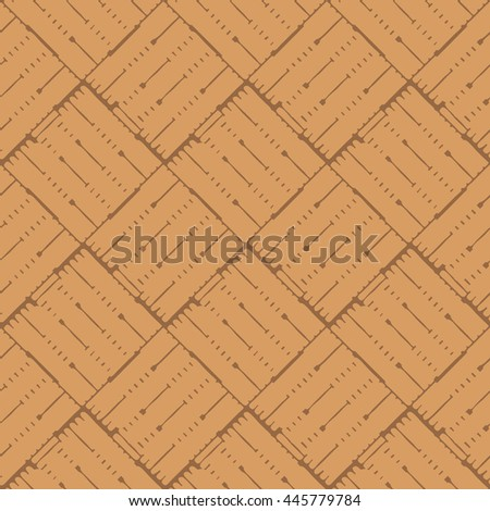 Seamless abstract basket weave pattern background tile