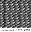seamless abstract black-white background - stock photo