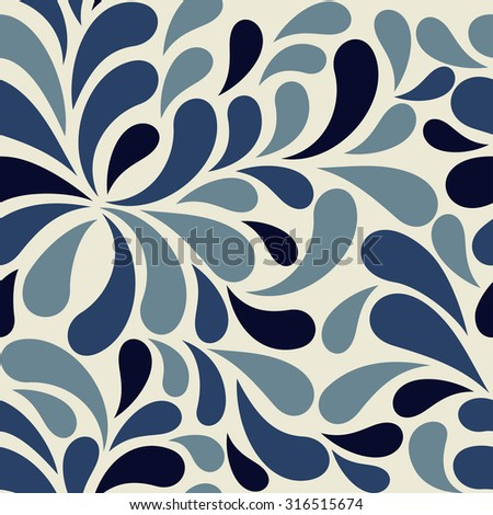 seamless abstract colorful  pattern - stock vector