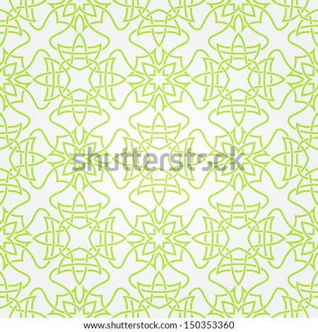 Seamless abstract colorful pattern with gradient. Vector illustration