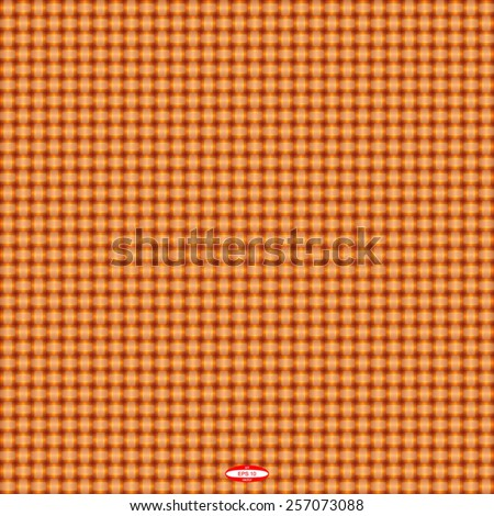 seamless abstract copper pattern sand texture with rust line wicker ginger background vector - stock vector