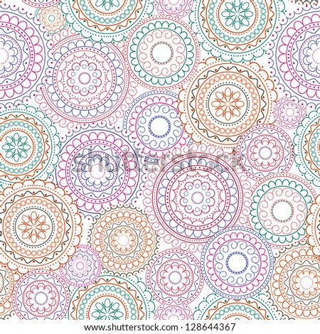 seamless abstract decorative background