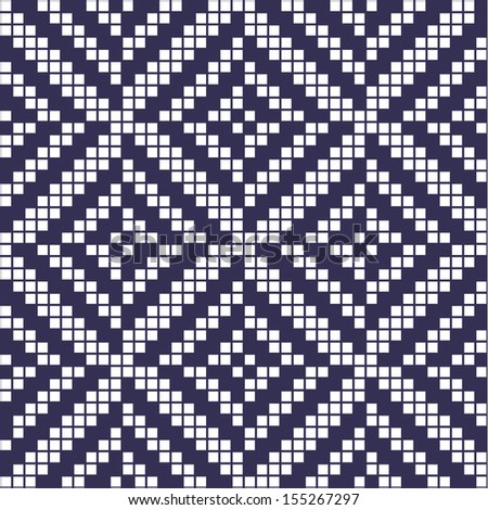 Seamless Abstract Ethnic Geometric Pattern