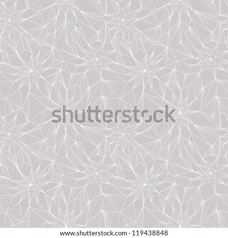 Seamless abstract geometric pattern - stock vector