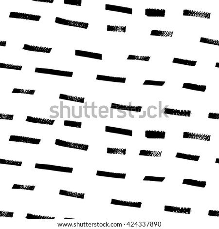 Seamless abstract hand drawn pattern