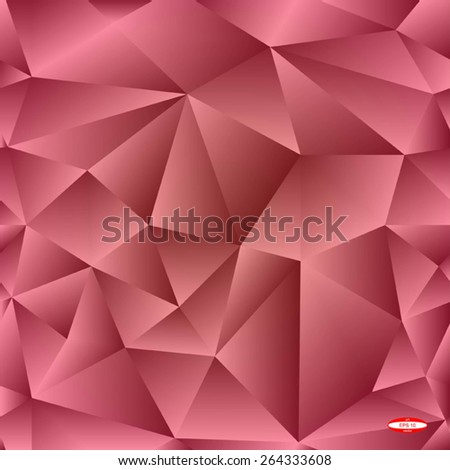 seamless abstract marsala pattern purple texture with triangle abstract ginger line on raspberry background vector - stock vector