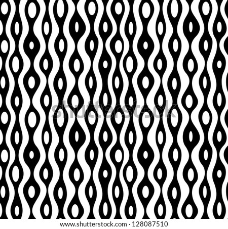 Seamless abstract monochrome pattern. EPS 8 vector illustration. - stock vector