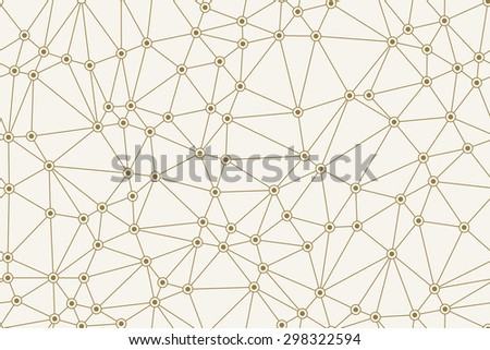 Seamless Abstract Network Pattern.