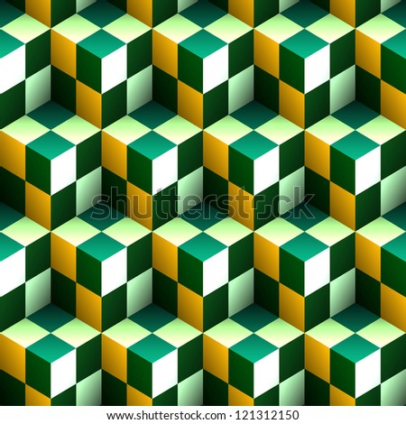 Seamless abstract pattern. - stock vector