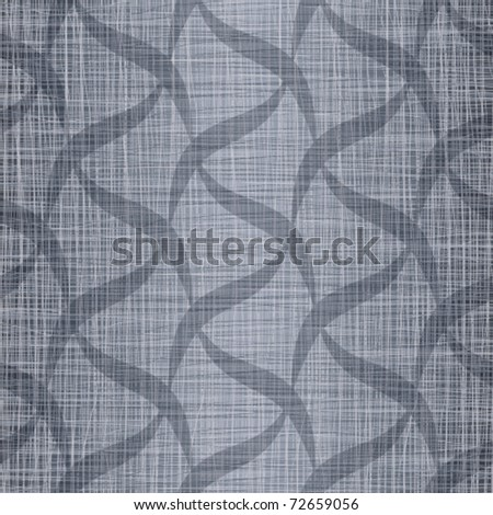 Seamless abstract pattern against a jeans fabric - stock vector
