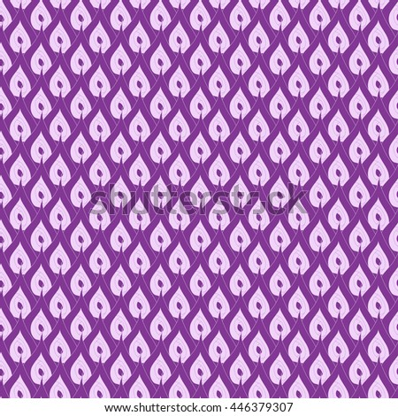 Seamless abstract pattern in bright violet and pale lilac colors. Vector illustration.