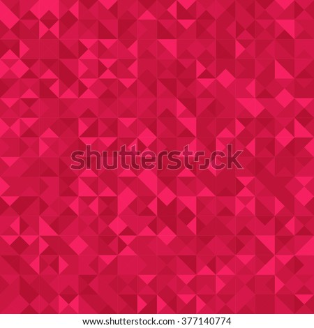 Seamless Abstract pattern: monochrome dark pink background with Holographic effect.  Vector illustration. - stock vector