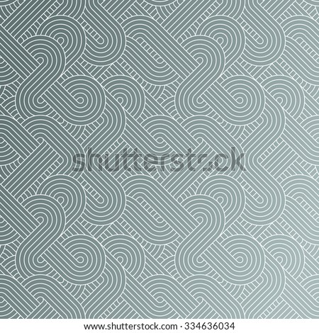 Seamless abstract technology pattern - stock vector