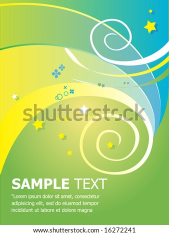 Seamless Abstract Vector Template. For more illustrations VISIT MY GALLERY. - stock vector