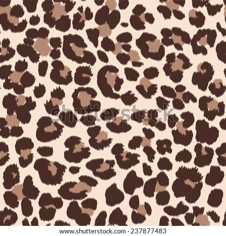 Seamless animal pattern for textile design / Vector illustration