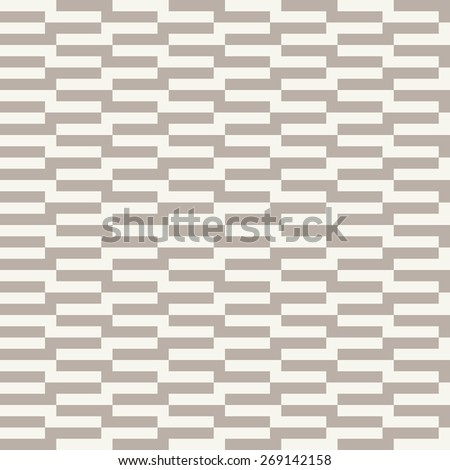 Seamless anthracite gray op art rectangle pattern vector - stock vector