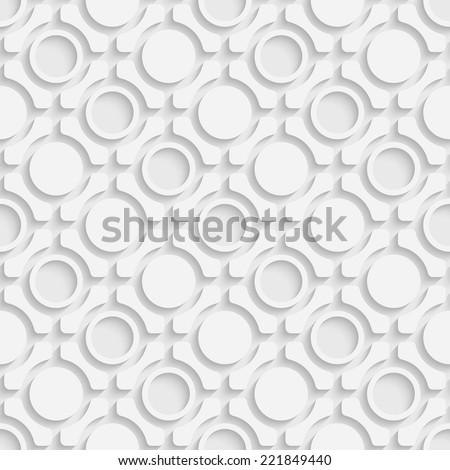 Seamless Arabic Pattern - stock vector