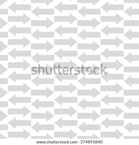 Seamless arrow vector background pattern. Textile fabric fashion
