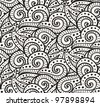 seamless art pattern - stock vector