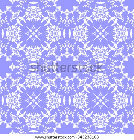 Seamless background. Abstract lacy pattern. Vector illustration.