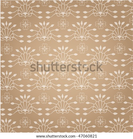 Seamless background, floral pattern