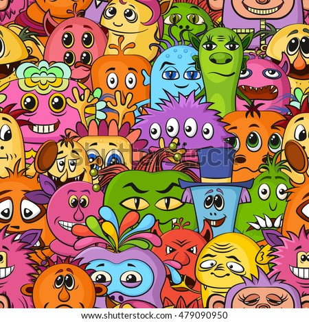 Monster Cartoon Stock Images Royalty Free Images