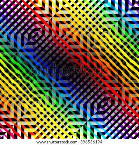Seamless background pattern. Abstract diagonal geometric pattern. - stock vector