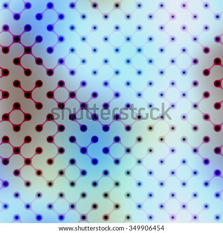 Seamless background pattern. Abstract diagonal geometric pattern on blurred.