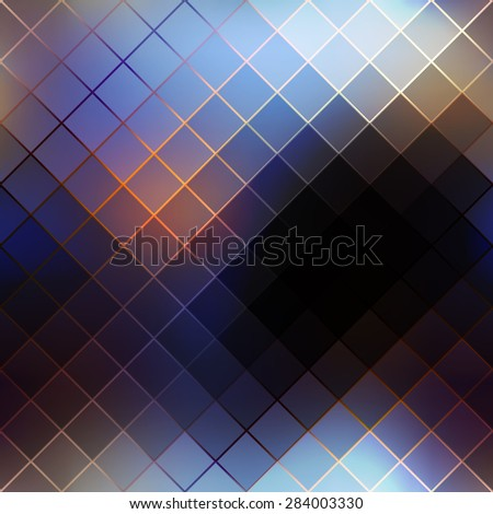 Seamless background pattern. Abstract diagonal geometric pattern on blurred background. - stock vector