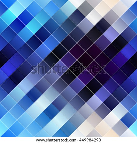 Seamless background pattern. Diagonal geometric abstract pattern. - stock vector