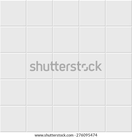 Seamless background, paving marble tiles. no gradient, no transparency - stock vector