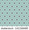 Seamless background. Simple design. Seamless pattern in blue. Vector file has few layers for easy using. - stock vector