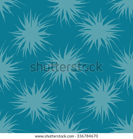 Seamless background with agave plants