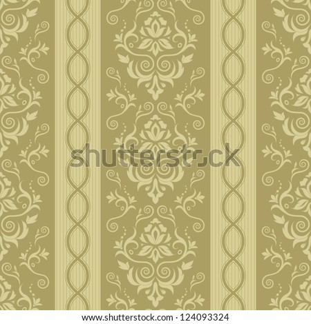 Seamless background with stripes for design, vector Illustration - stock vector