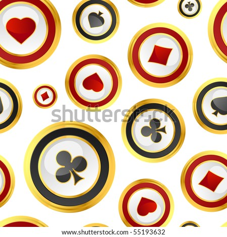 Seamless background with suits. - stock vector