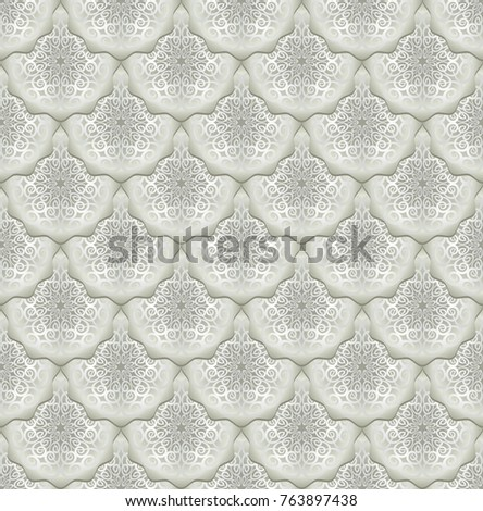 seamless background with vintage pattern